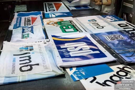 flagi reklamowe informacyjne druk