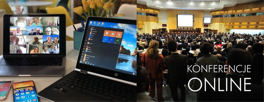 Firmowe konferencje online przenosimy do internetu