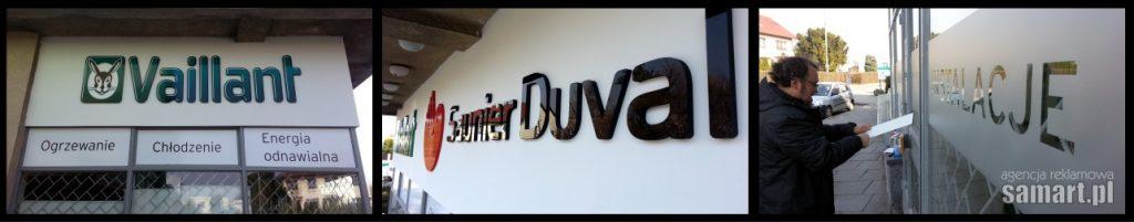 Vailant - reklama kraków oddziału Sunier Duval