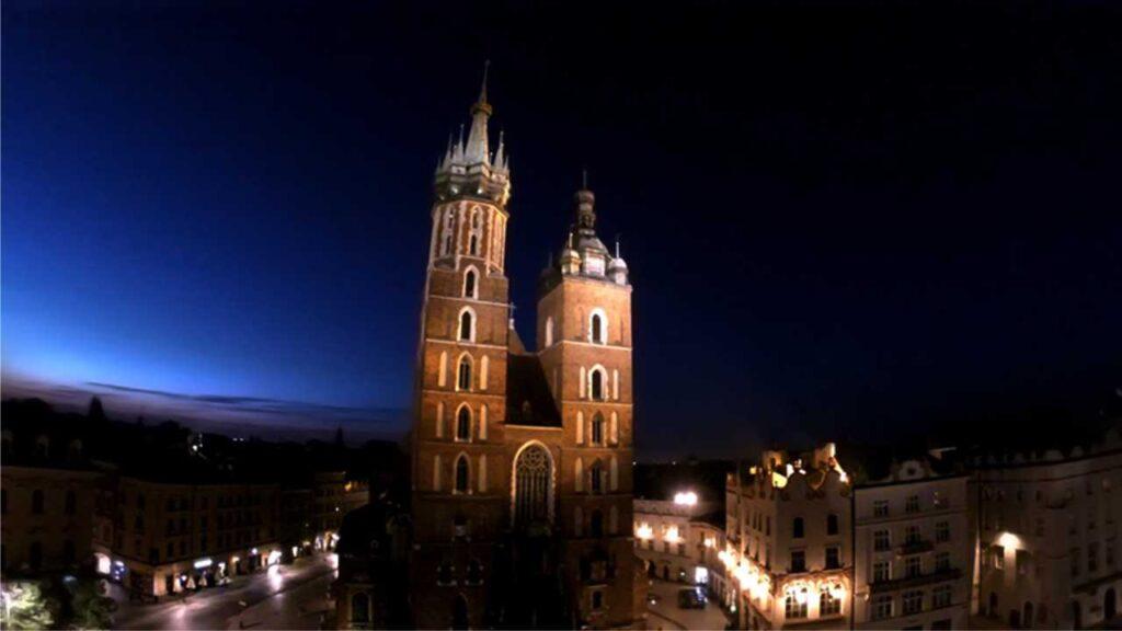Reklama Kraków - fotografowanie z drona - zdjęcia lotnicze.