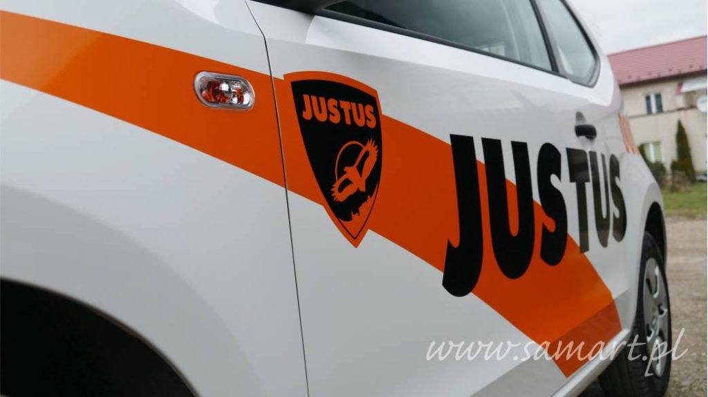 Naklejki na samochód dla Justus