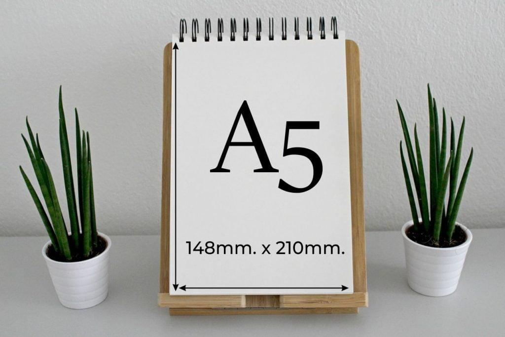 A5 format papieru - jakie ma wymiary