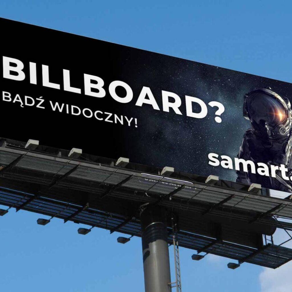 Billboardy - projektowanie - produkcja druk. Kompleksowa oferta produkcji billboardów