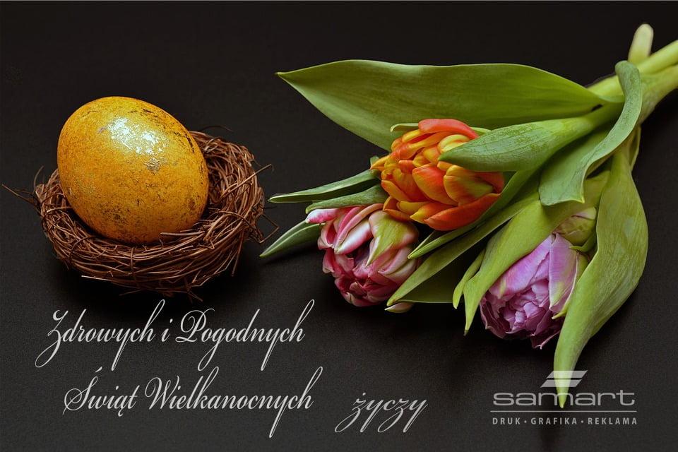 Święta Wielkanocne życzenia SamArt
