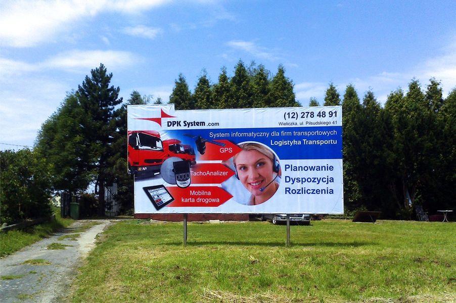 Tablica reklamowa ODBLASKOWA