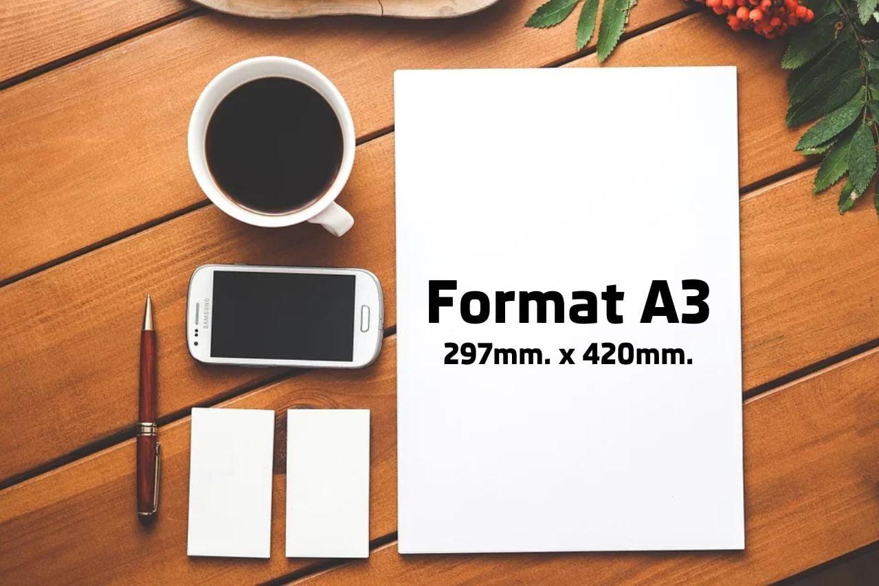 Jaki wymiar ma papier formatu A3