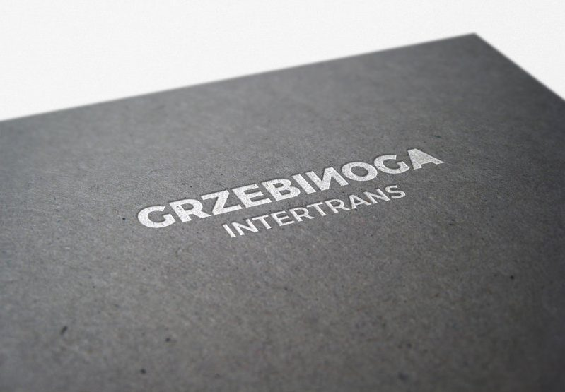 Projekt logo dla klienta Grzebinoga Intertrans