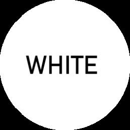 Infografika przedstawiająca najbardziej popularny kolor - white (biały)