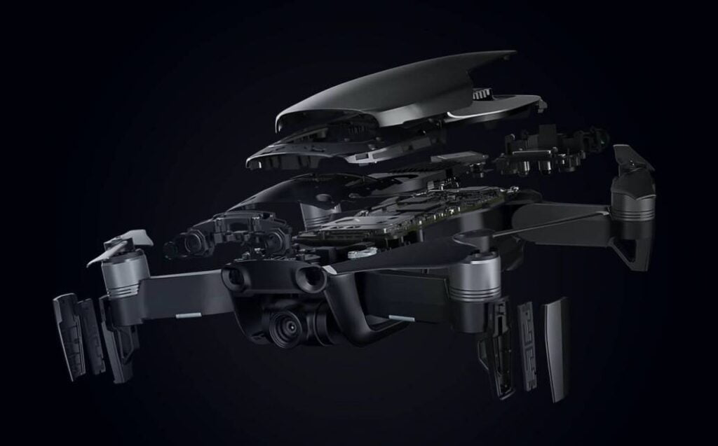 Wynajem drona Mavic Air