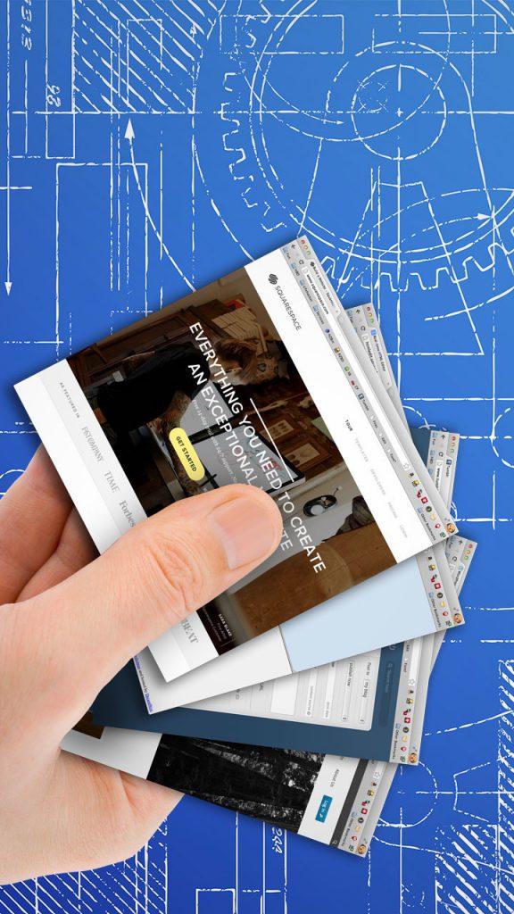 Wizytówki drukowane na madiach ponadstandardowych