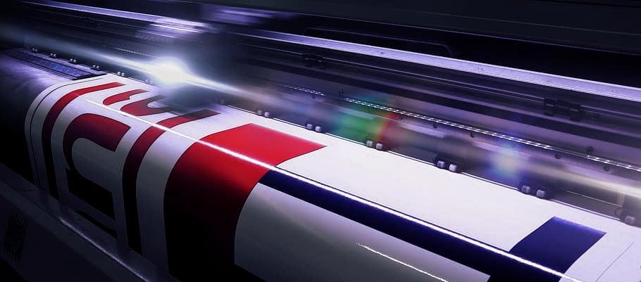 Druk cyfrowy - Ploter wielkoformatowy do druku