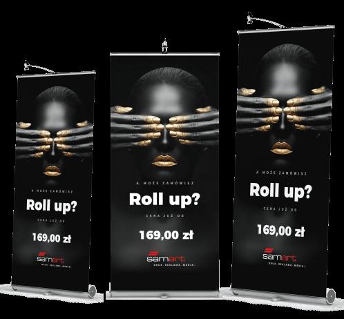 SmaArt oferta rool up - cennik roolup Kraków