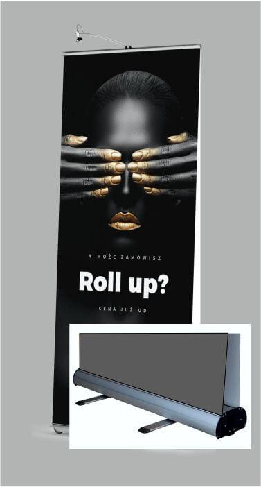 Dwustronny RollUP w wersji ekonomicznej