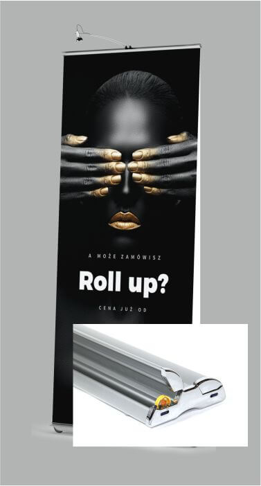 Dwustronny Roll UP wersja VIP Exclusive