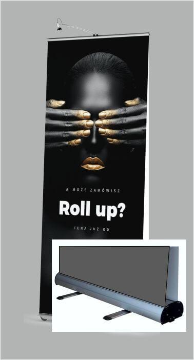 Roll UP w wersji sandardowej - ekspozycja dwustronna