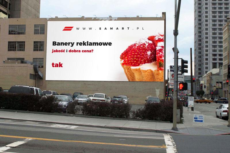 Banery reklamowe cennik podstawowy