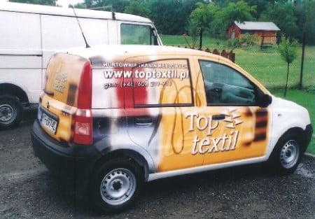 Oklejanie samochodów osobowych = TopTextil