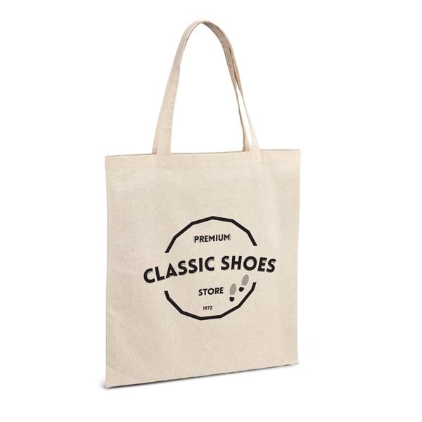 Bawełniane ekologiczna torba reklamowa z logo - gadżet reklamowy