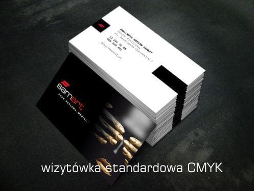 Przykład druku wizytówki standardowej