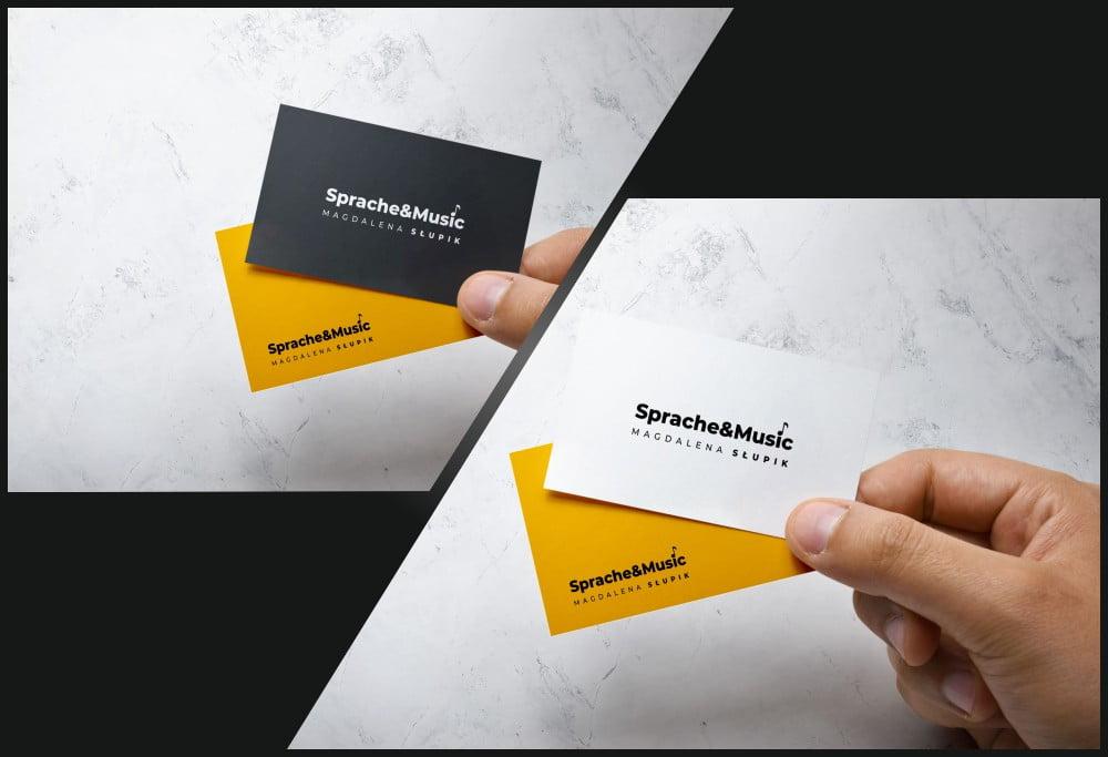 Wizytówka standardowa - wizytówka foliowana - jaki rodzaj uszlachetnienia wybrać?