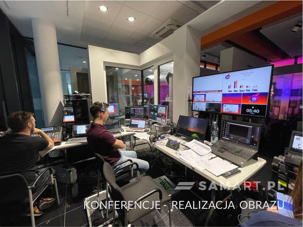 Realizacja obrazu - streaming w konferencjach firmowych online