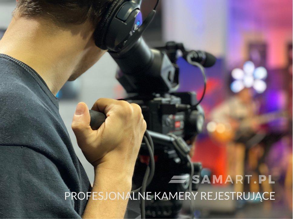 Uzycie profesjonalnych kamer przy realizacji konferencji