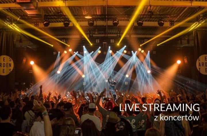 Live Streaming Realizacje na żywo z koncertów